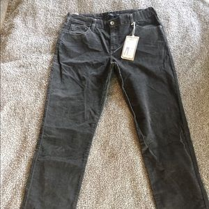 Levi's mid-rise skinny corduroy pants 14